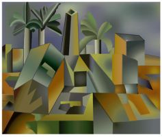 Cubism Reproduction by marron