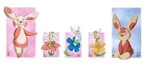 PKMNation: Rulletta x Solar Ray Clutch: Closed! by Yufika