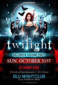 Twilight Halloween Flyer by AnotherBcreation