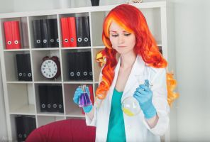 Sunset Shimmer Cosplay - Lab Version by sunny-tooi