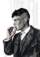 Thomas Shelby by Irishmellow