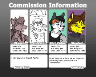 Commission Guide by FlyingRam