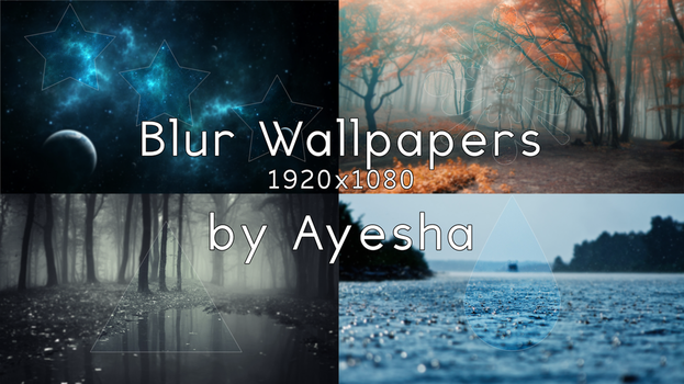 Blur Wallpaper Set [1920x1080] by ayeshax3