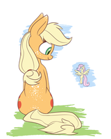 The Big Friendly Applepony by Heir-of-Rick
