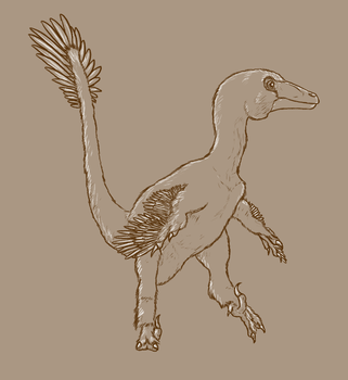 30 Day Dinosaur Drawing Challenge - Day 5 by Sketchy-raptor