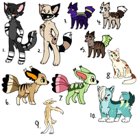 Bunch of 'dopts (OPEN) by 1-800-ADOPT