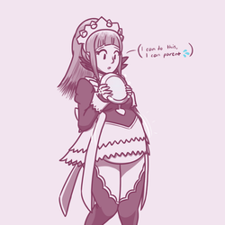 'full'-icia 05162018:motherly maid by Jellybeans2