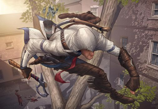 Assassins Creed 3 fan art contest by PatrickBrown