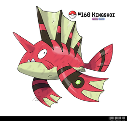 160 - Lion Fish Fakemon by LeafyHeart