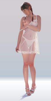 Female-in-lingerie by GraphicDream