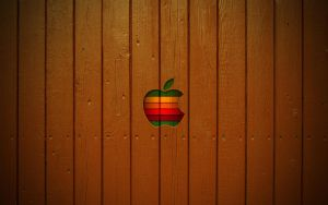 Mac Wallpaper Wooden style by ulrikstoch