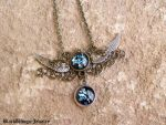 Angel - black by BlackWings-jewelry