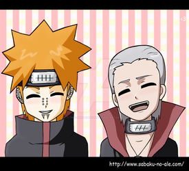 Naruto+Chibis: Why so happy? by The-PirateQueen
