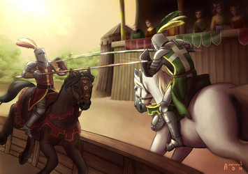 Medieval Joust by AnormalADN
