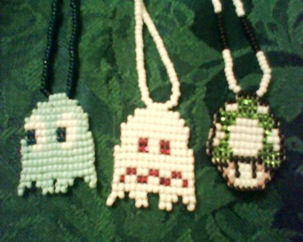 Charm Necklaces by Kat-Lina
