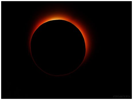 Solar eclipse by roup14