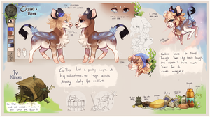 Cattie Bree - Reference | MYO Whimlet CONTEST | by Fyurama