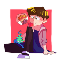 casual mob! by PepperPixel