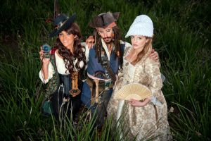 Pirate Pimping by queencattabby