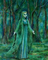 Lady of forest by tin-sulwen