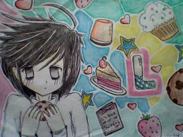 Lawliet - Death Note by toegetic