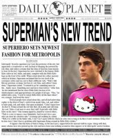 Superman:Trendsetter with... by Dragonsfire867