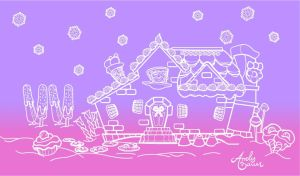 Candy House - Outline by Art-by-Andy