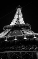Eiffel Tower at night 1 by ManicMechE