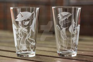 Littepip and Velvet Remedy water glasses by rtry