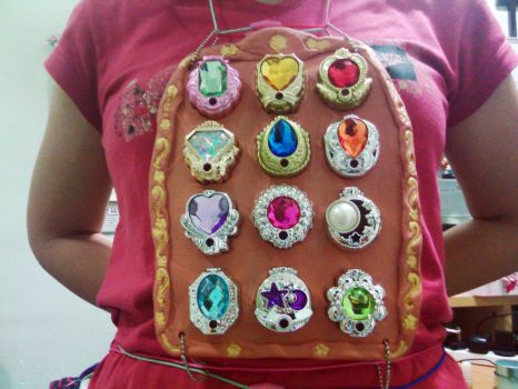 Linkle Stones in Priestly Breastplate by ojamajomary