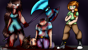 [Redraw] The Death To Steve by Herobette
