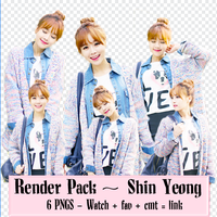 Render Pack #1 :) by parkjiwon-parkjimin