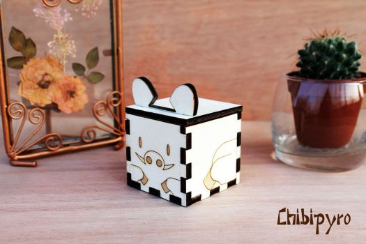 Wooden Boar Favor by ChibiPyro