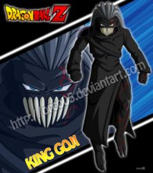 King Goji - Dragon Ball Z Invasion of Tradick by orco05