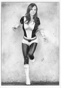 realistic KITTY PRYDE Shadowcat X-Men by TimGrayson