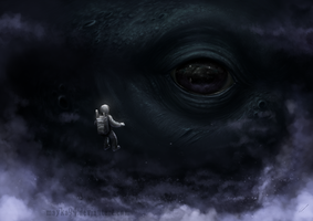 ...the abyss stares back at you by Mayka94