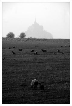 A day in Mont Saint Michel by blackcat