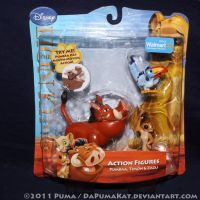2011 Pumbaa and Timon Figures by dapumakat