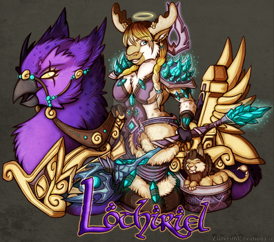 Lothiriel Mount Badge by ZulterithCreations