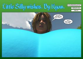 Little Silly Wishes. Page 42. by nyom87