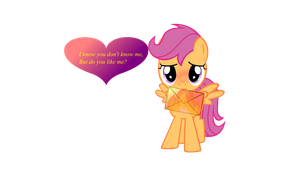 Scootaloo has a crush on you! by PureZparity