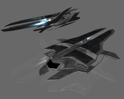 Spaceship by 3Darts