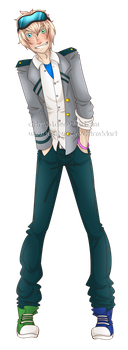 BnhA OC:  Andrew by Ch4rm3d