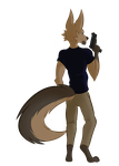 Fullbody Commission - FlameNelson by SNOWMANTlS