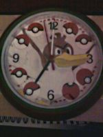 Farfetch'd clock