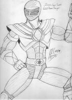 Gold Power Ranger by Satan-Jyunanagou