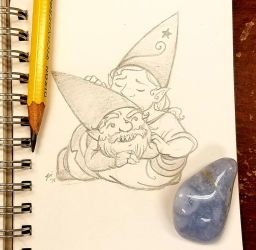 Sunday Gnomedays 7-1-18 - Gnomes of Arcadia by rachelillustrates