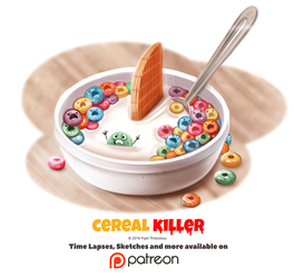 Day 1376. Cereal Killer by Cryptid-Creations