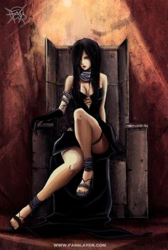 Girl on the Throne by FASSLAYER