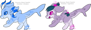 Shark Paselchis - Adoptables - closed by JB-Pawstep